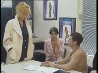 Klassisch 80s Porno Flotter Dreier
