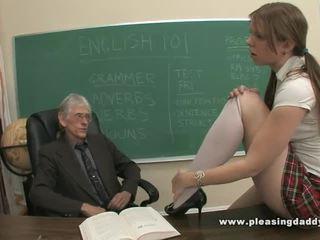 Old vs young porno