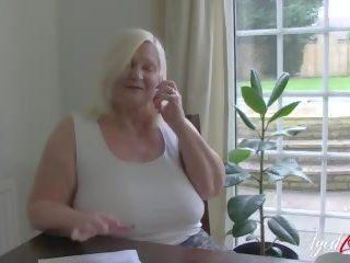 Britisch Bbw Oma Lacey Starr