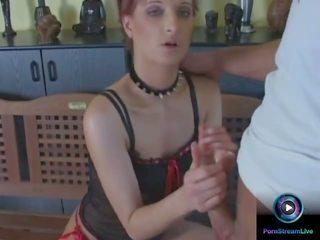 kleine handjob porno