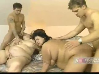 big white hintern orgie